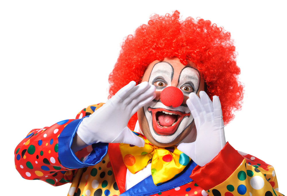 Clown Adobe Stock 76378226